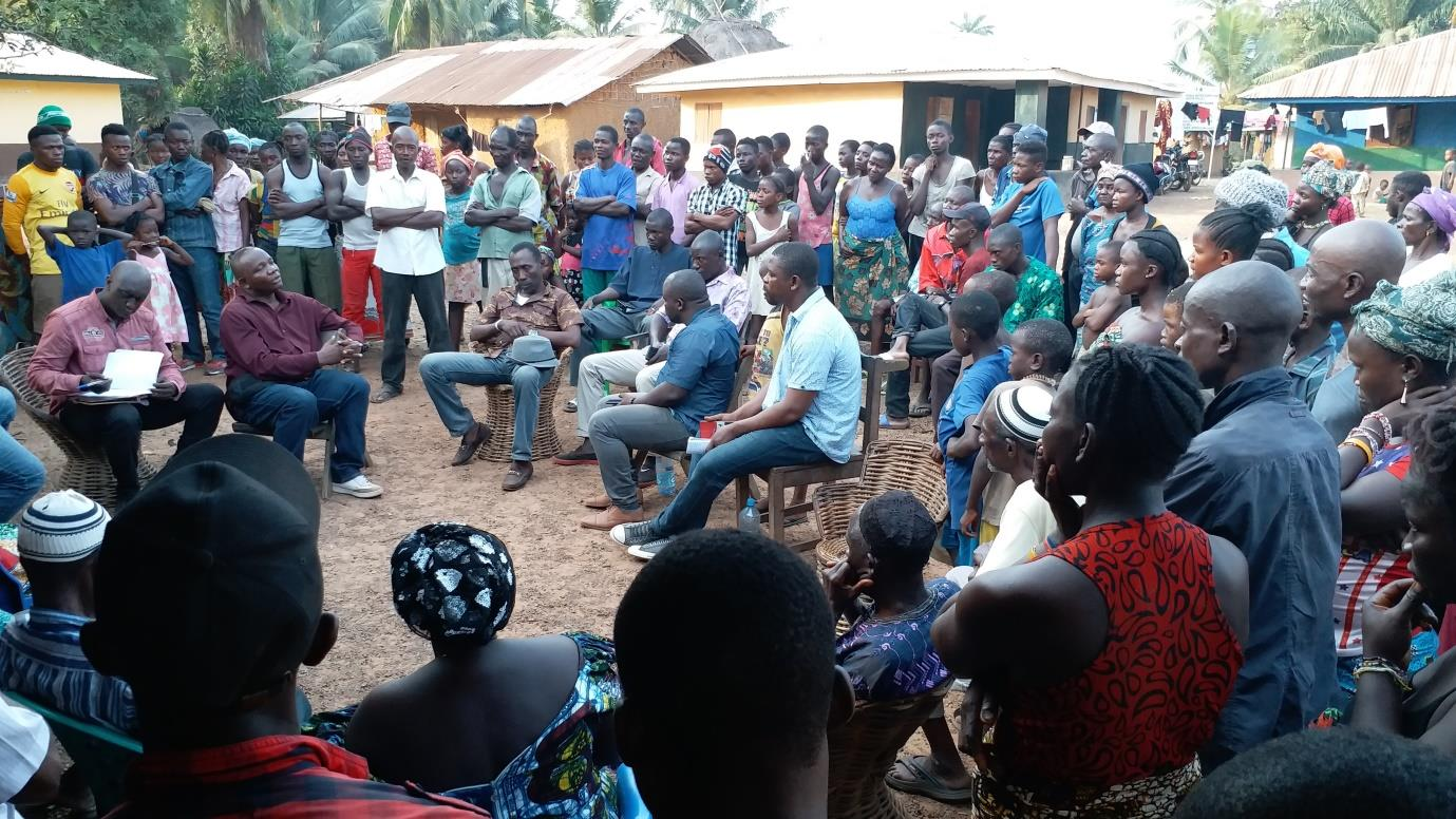 Fact finding mission on the Human Rights situation in Malen Chiefdom after the violent incidents in January 2019