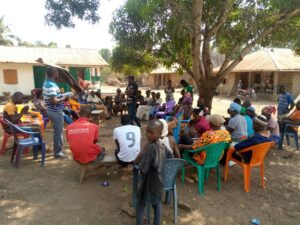 Green Scenery and Christian aid organized Joint Monitoring Exercise In Portloko District.